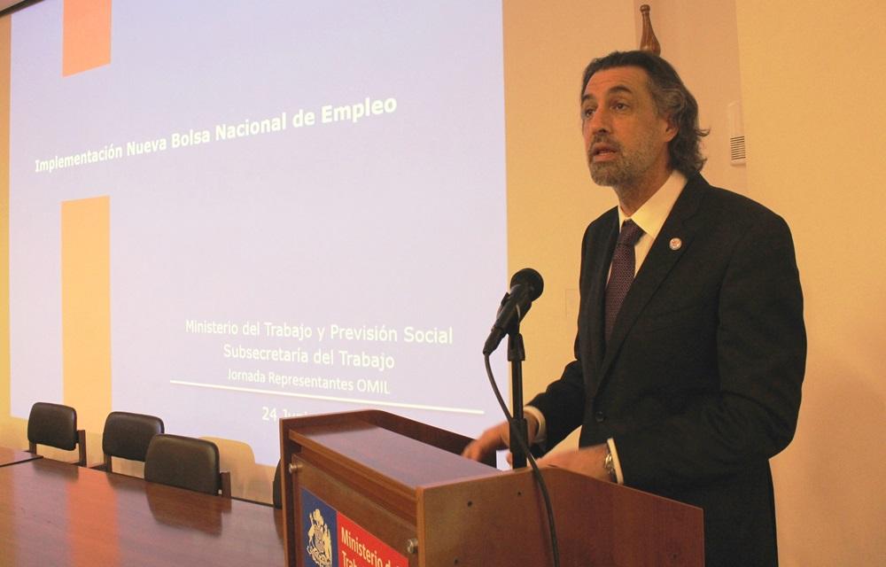 Autoridades del trabajo y representantes Omil analizan proyecto de la nueva Bolsa Nacional de Empleo