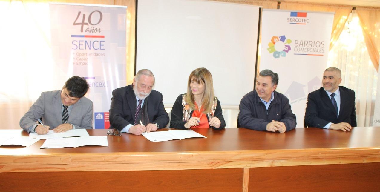 Sence y Sercotec beneficiarán a 230 comerciantes de la Región del Maule