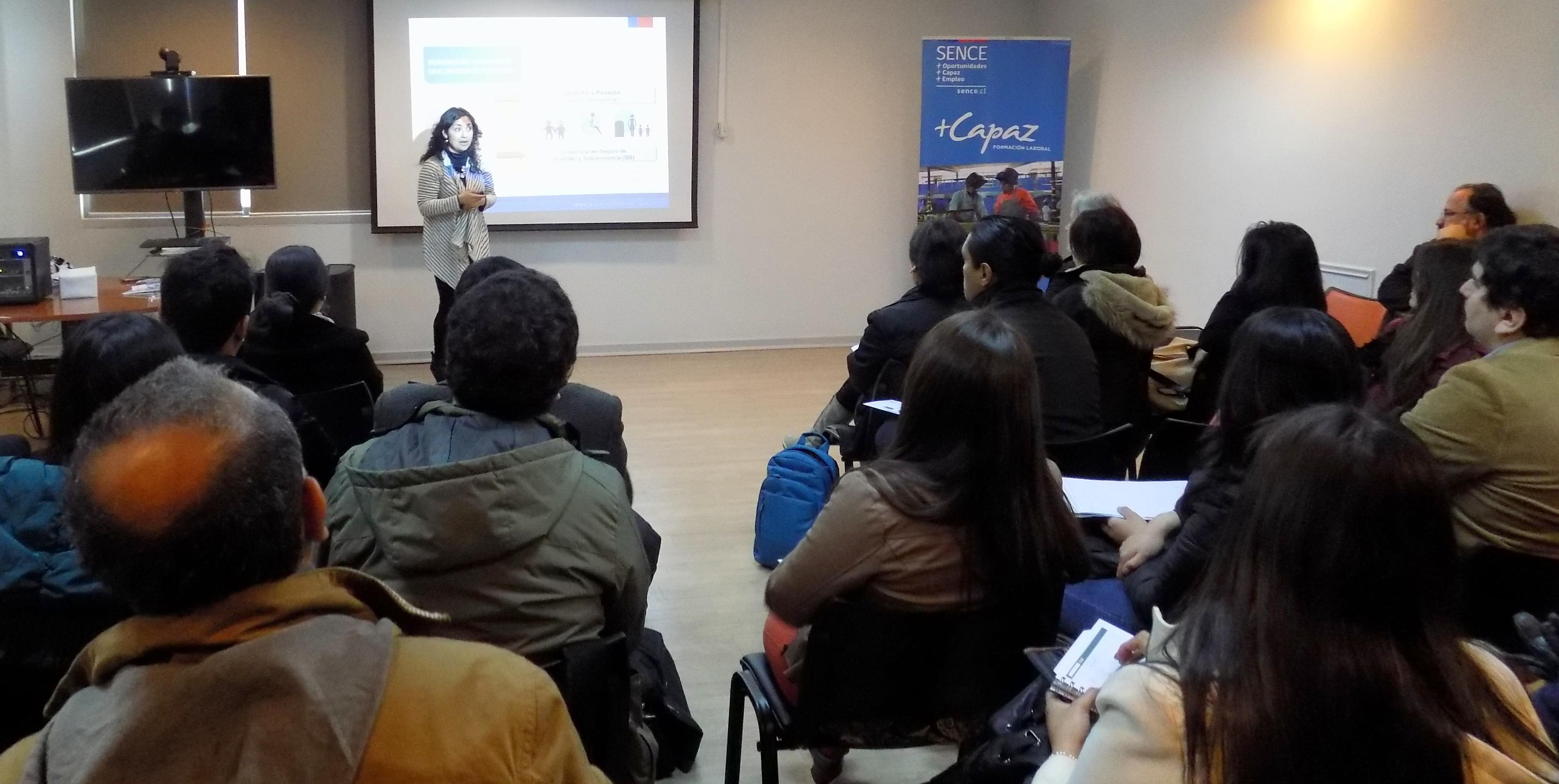 Relatores del Programa +Capaz reciben capacitación sobre derechos y ...