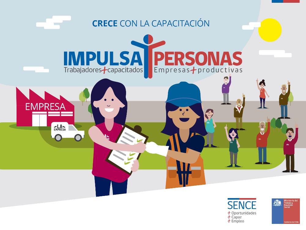 """Sence presenta """"Impulsa Personas"""", la oportunidad que beneficia a trabajadores y empresas"""