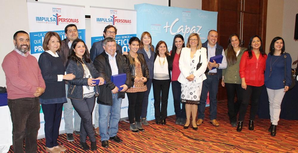 En Coyhaique: Sence premia a empresas que se destacaron en inclusión y capacitación laboral