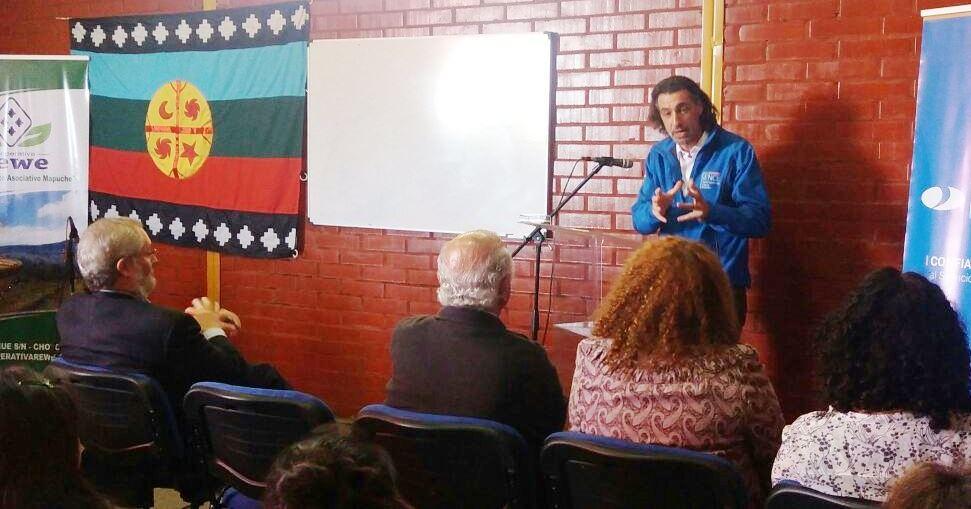 Productores mapuche de berries buscan crecimiento con proyecto de capacitación con pertinencia